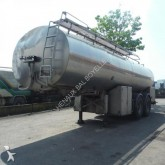 damaged food tanker semi-trailer