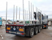 used timber semi-trailer