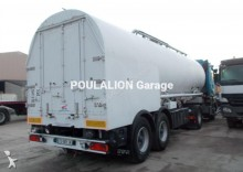 used Ova food tanker semi-trailer