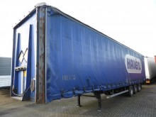 used LAG tautliner semi-trailer