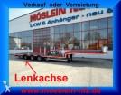 semirremolque Moeslein 3 Achs Tieflader für Fertigteile, Baumaschinen,