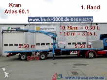 used Kramer dropside flatbed semi-trailer