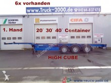 semirremolque Carnehl Container Chassis High Cube 20 30 40 Fuss 1.Hand