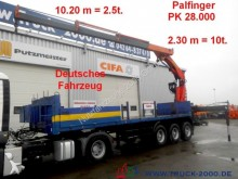 used Lück dropside flatbed semi-trailer