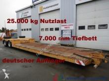 Scheuerle Tiefbett-brücke 7 m Höhe 52 cm * 25t. Nutzlast semi-trailer