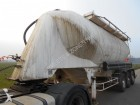 used Fruehauf powder tanker semi-trailer