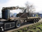 used LAG flatbed semi-trailer