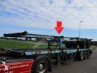 LAG 2 axles container trailer