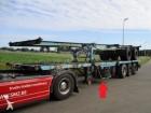 Renders 3 axles container trailer