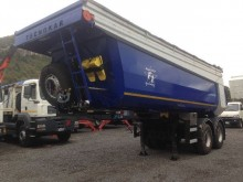 used Tecnocar tipper semi-trailer