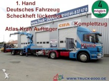 used Kramer flatbed semi-trailer