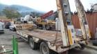 used General Trailers heavy equipment transport semi-trailer