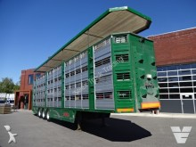 used Finkl livestock semi-trailer
