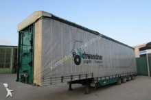 used Meusburger heavy equipment transport semi-trailer
