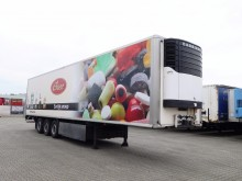 used Krone double deck refrigerated semi-trailer