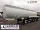 Magyar Fuel tank alu 39 m3 / 9 comp semi-trailer