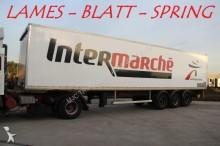 used Trouillet box semi-trailer