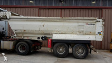 used Leciñena construction dump semi-trailer