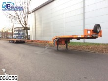 used Nooteboom heavy equipment transport semi-trailer