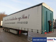 used Kel-Berg tautliner semi-trailer