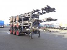 Desot stack of 3x20FT/30FT ADR-chassis, SAF+disc, 2 li semi-trailer