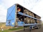 semi remorque Montracon 3-Axle Platform / ROR / Drumbrakes