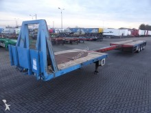 used Kromhout flatbed semi-trailer