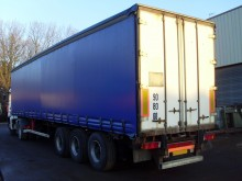 used Trouillet flatbed semi-trailer