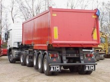 ATM 3 axle Tiptrailer with 32 m3 aluminium body semi-trailer
