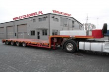 semi remorque Stokota 4 AXLE LOW LOADER STOKOTA S4U N2-28 VERY LOW! ONLY 75 CM!