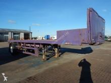 Fruehauf CRANE 25FT SINGLE AXLE FLATBED TRAILER - 1991 - A158786 semi-trailer