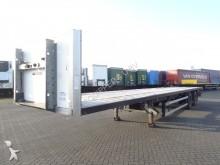semirremolque Groenewegen 2 axle platform, SAF + disc, hardwooden floor
