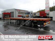 used ES-GE flatbed semi-trailer