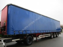 used Pacton tautliner semi-trailer