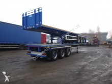 used Montracon flatbed semi-trailer