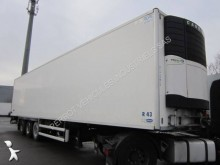 used Aubineau multi temperature refrigerated semi-trailer