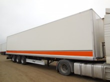 used Fliegl box semi-trailer