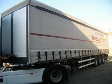 Kögel dropside flatbed tarp semi-trailer