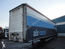 semi remorque Tirsan 3-AXLE MEGA AIRFREIGHT CURTAINSIDE WITH ROLLER F