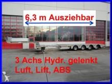 new Goldhofer heavy equipment transport semi-trailer