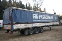 Acerbi Semirimorchio, Centinato Sponde, 3 assi, 13.60 m semi-trailer