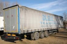used Piacenza dropside flatbed tarp semi-trailer