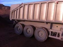 used Benalu benne TP semi-trailer