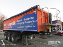 semi remorque Langendorf Kipper Alukastenmulde 25m³