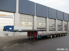 used ES-GE heavy equipment transport semi-trailer