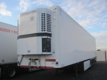 used Leciñena mono temperature refrigerated semi-trailer
