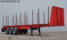 used Lecitrailer timber semi-trailer