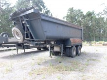 used Galucho tipper semi-trailer