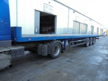 used Schwarzmüller flatbed semi-trailer