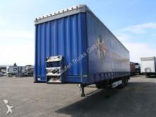 used Krone tarp semi-trailer